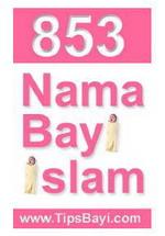 853 Nama Bayi Islam