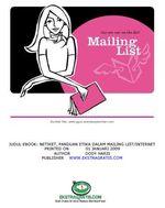 Etika Dalam Mailing List