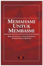 Memahami Untuk Membasmi Buku Saku Anti Korupsi