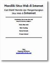 Memiliki Situs Web di Internet